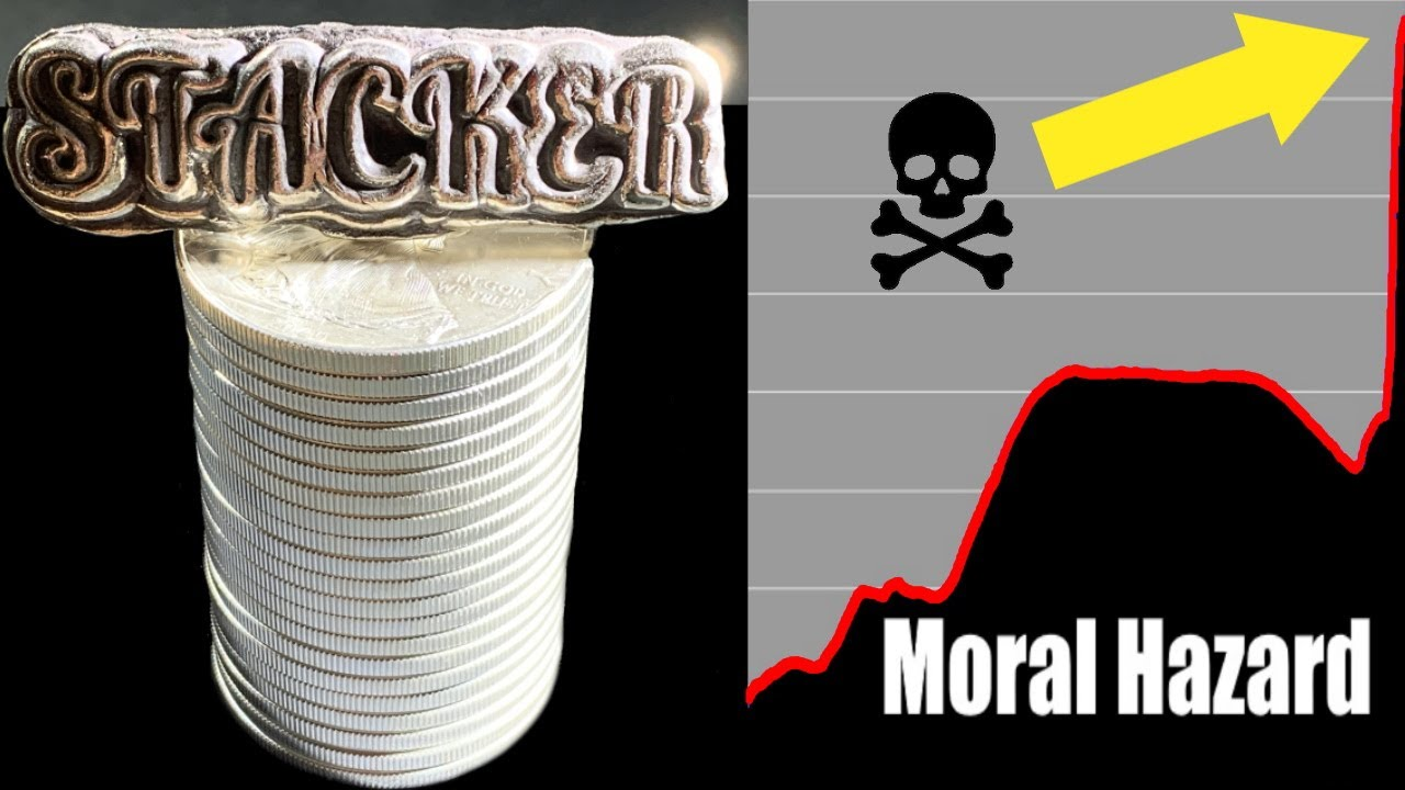 THIS dramatic chart tells Silver Stackers what is going to happen! #MoralHazard
