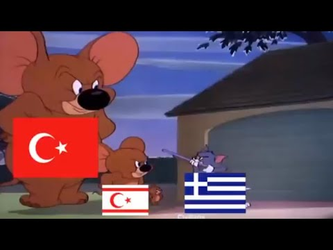 What happened in Cyprus war - Tom & Jerry
