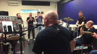 A second mission song rehearsal - The Lee Thompson Ska Orchestra