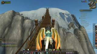 World of Warcraft Reaching Ironhorn Enclave for The Highmountain Smiths Blacksmithing Legion Quest