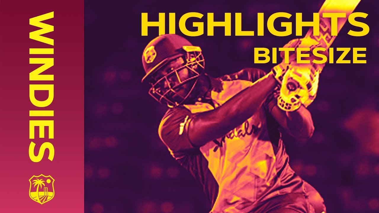 Windies v Bangladesh 1st IT20 2018   Bitesize Highlights