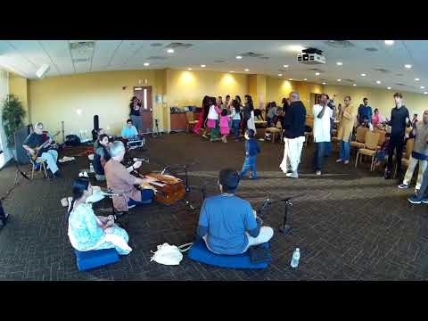 Havi Prabhu Chants Hare Krishna at USF Campus Kirtan