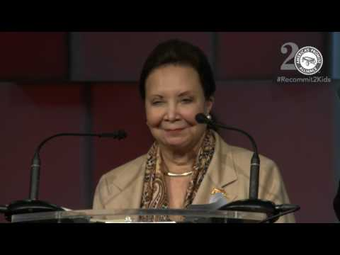 General Colin L. Powell (Ret.) and Chair, Mrs. Alma Powell Call to Action