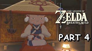 MEETING IMPA & HATENO SHRINES #1!!!   The Legend of Zelda: Breath of the Wild (Part 4)