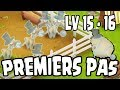 Premiers pas : level 15 - 16 ! Hay Day