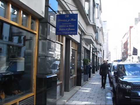Savile Row - 'The Golden Mile of Tailoring' in London