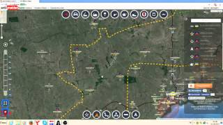 Обзор карты боевых действий 01 09 2014