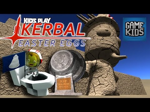 5 Kerbal Space Program Easter Eggs - Kids Play
