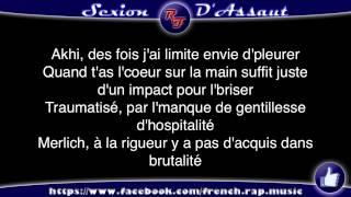 Sexion d'Assaut - a? coeur ouvert (Paroles) HD 2012 (Lyrics)