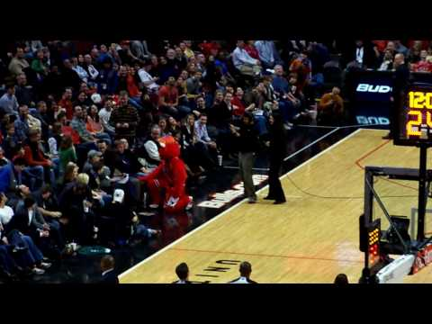 Benny the Bull Dancing With Celebrity Guest.....