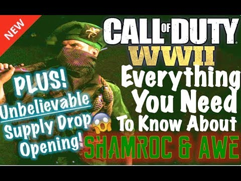 *NEW UPDATE* Everything You Need to Know About Shamroc and Awe | COD WW2 Video (CRAZY SUPPLY DROPS)