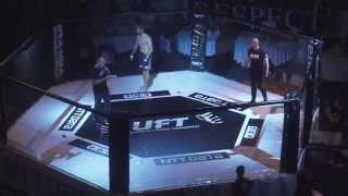 Gambar cover UFT -84 kg Alexandru Gavrila Brasov vs Dumitru Mihai Fight Academy Pitesti
