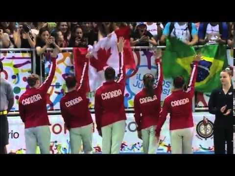 """Toronto 2015 Pan Am Games """"Fire"""""""
