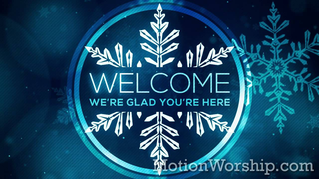 Christian Wallpaper Fall Offering Christmas Glow Snowflakes Welcome Hd Loop By Motion