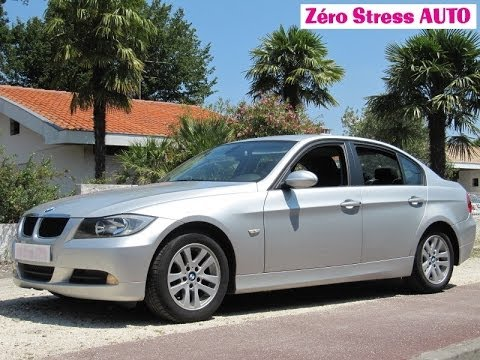 bmw s rie 3 e90 320 d confort 2007 zero stress auto fr zsa. Black Bedroom Furniture Sets. Home Design Ideas