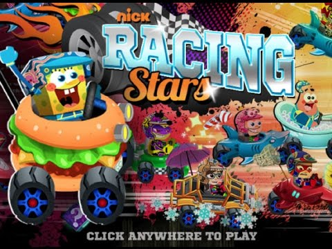 SpongeBob race star nickelodeon 2016 - Гонки Спанч Боб 2016