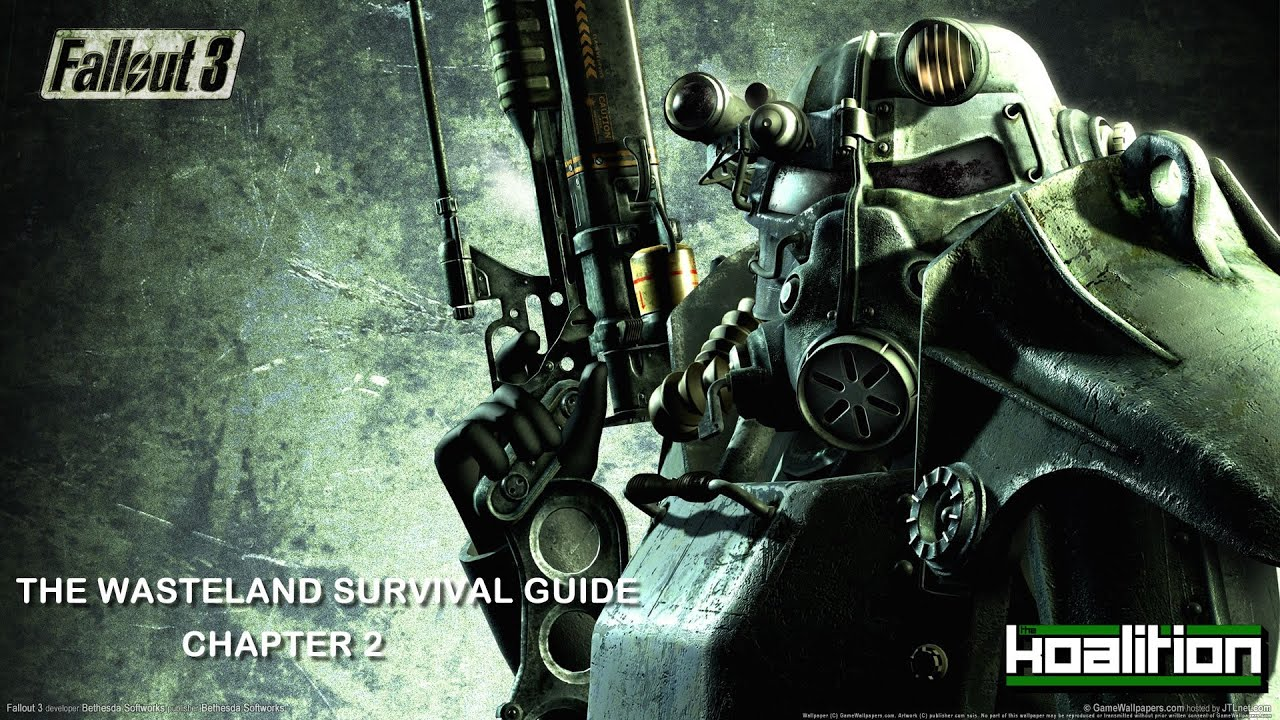 the side quest fallout 3 the wasteland survival guide chapter 2