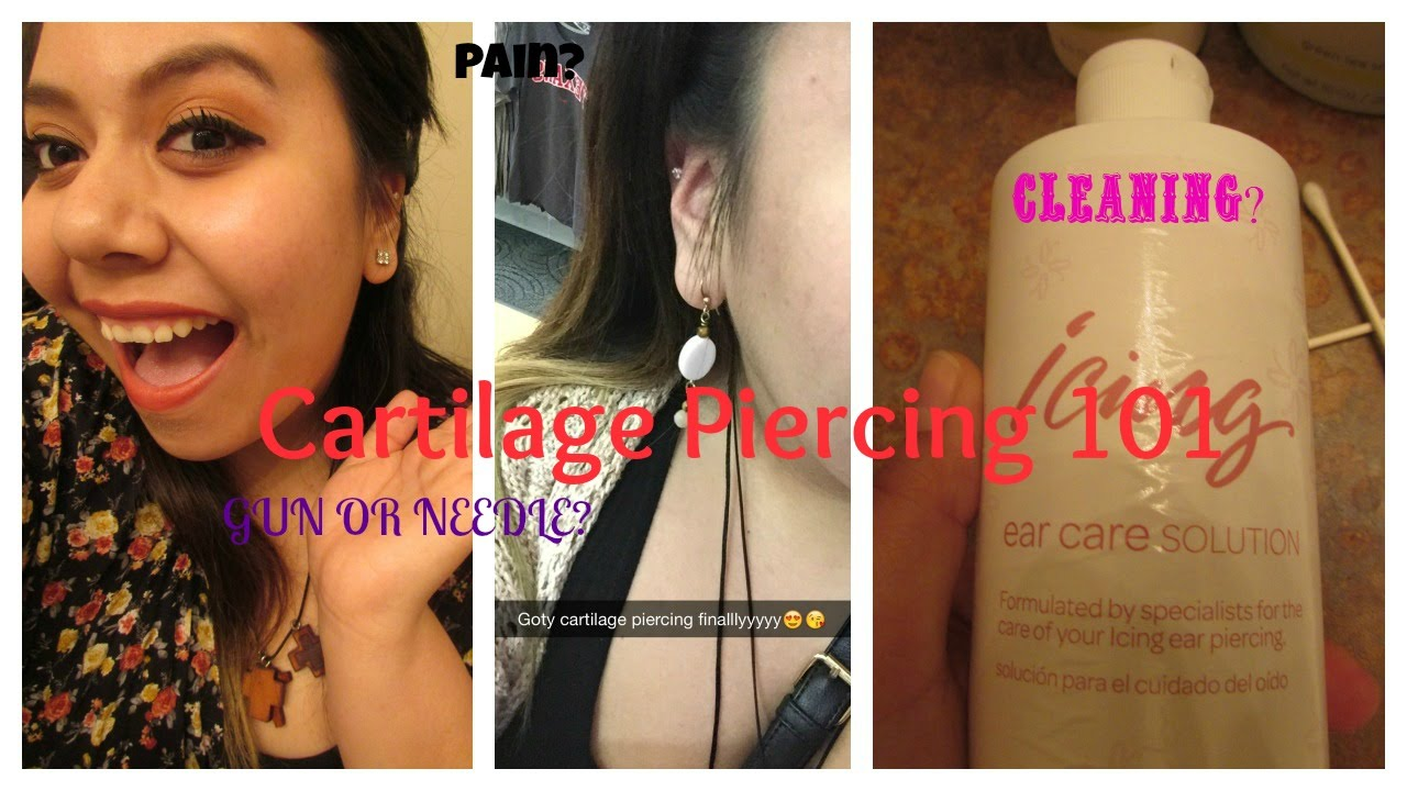Cartilage Piercing 101 Piercing At Icing By Claire S Youtube