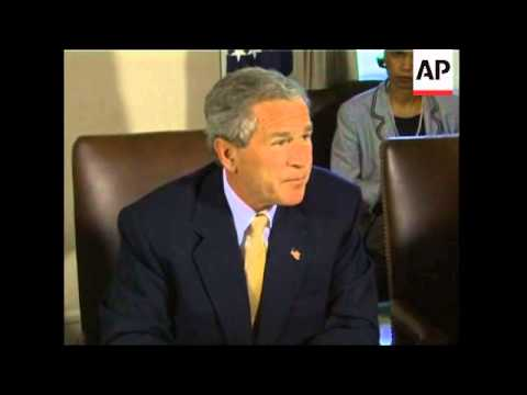 Bush insists Saddam/Al Qaida had link