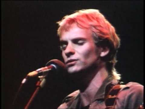Sting   Message In A Bottle Live Secret Policemans Other Ball 1981