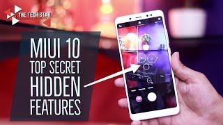 Miui 10 Top Secret Hidden Features TipsTricks Hindi ह द