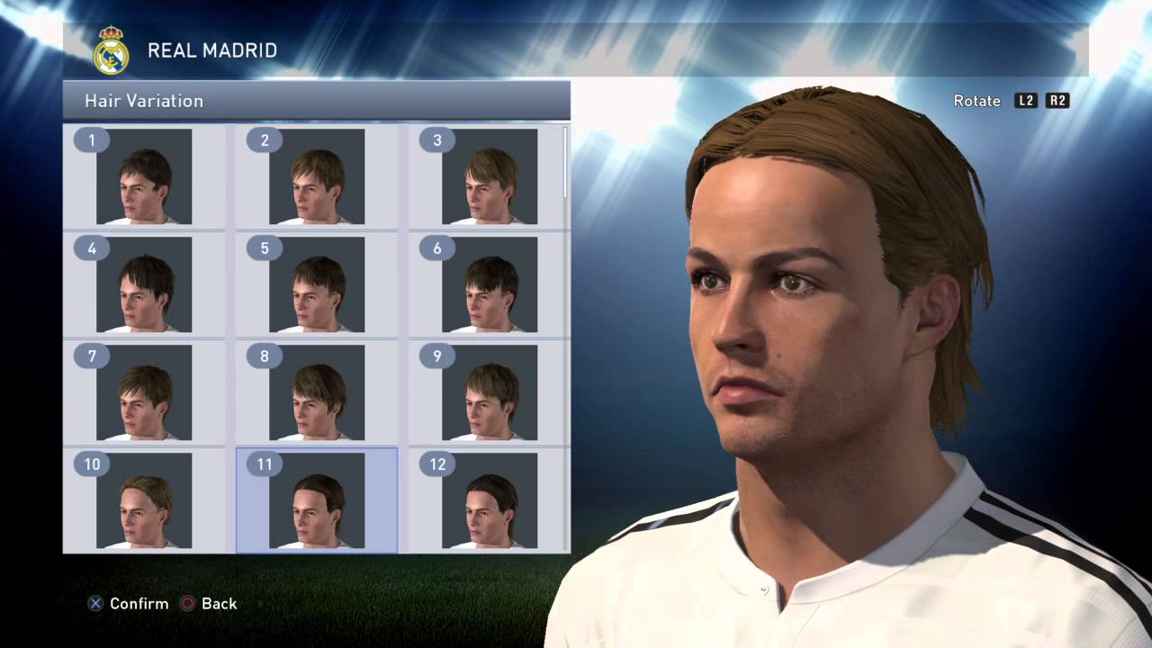 Pes 2015 All Hairstyles Youtube