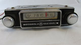 Винтажные автомагнитолы vintage car radio