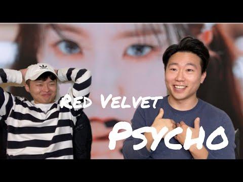 Korean Psychos Reaction On RED VELVET PSYCHO