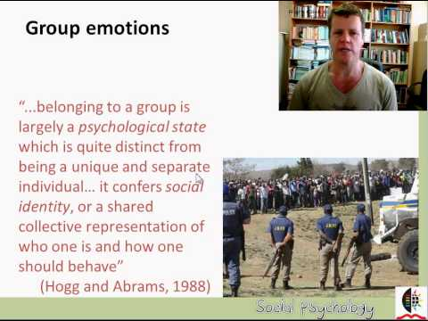 Introduction to Social Identity Theory