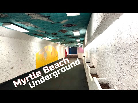 Myrtle Beach Underground Tunnel On Ocean Boulevard - Myrtle Beach, SC