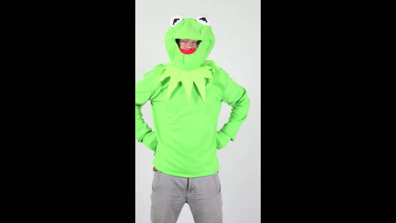 costume adult and Kermit and
