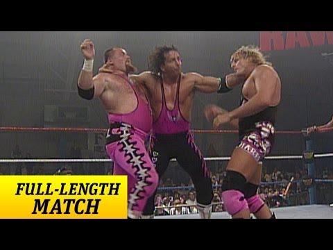 FULL-LENGTH MATCH - Raw - Bret Hart & British Bulldog vs. Owen Hart & Jim Neidhart