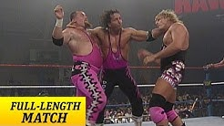 FULL-LENGTH MATCH - Raw - Bret Hart & British Bulldog vs. Owen Hart & Jim Neidhart