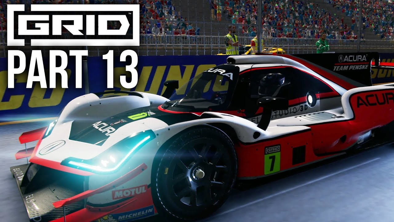 Procedimento de gameplay do modo carreira GRID 2019, parte 13 - PROTOTYPE & GT SHOWDOWN (World Series) + vídeo