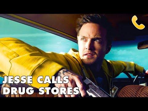 JESSE PINKMAN CALLS A DRUG STORE