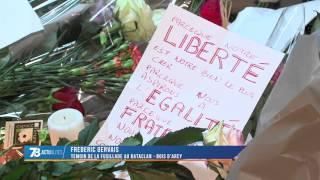 Attentats : Frédéric Gervais, 35 ans, de Bois d'Arcy était au Bataclan