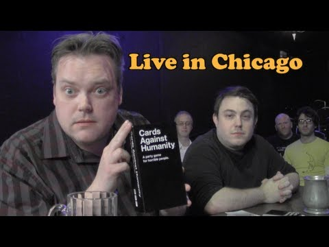 Cards Against Humanity Live With the Creators of the Game! (Beer and Board Games)