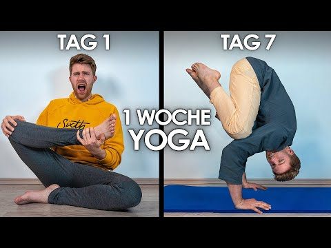 1 Woche Yoga lernen von Zuhause! | Selbstexperiment