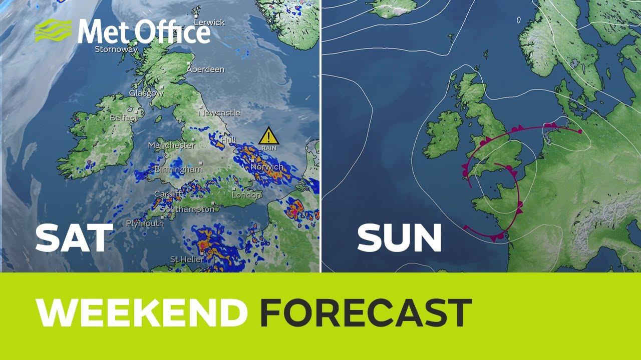 Weekend weather – Waving off the heatwave 22/07/21