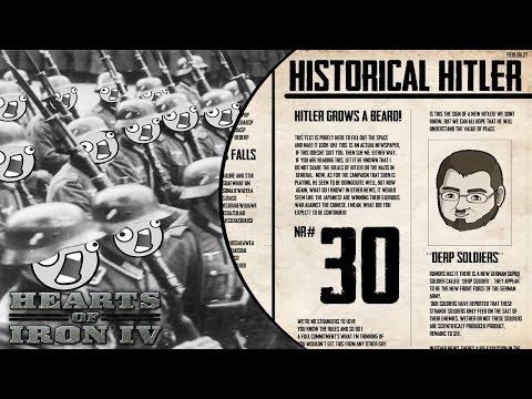 Historical Hitler [30] Germany Hearts of Iron IV HOI4 - Vloggest