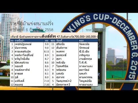 Danthai: ม้าแข่งชิงถ้วยพระราชทานคิงส์คัพ 2015