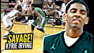Kyrie Irving MOST SAVAGE Moments! Ballislife Edition! The Most INSANE Handles!