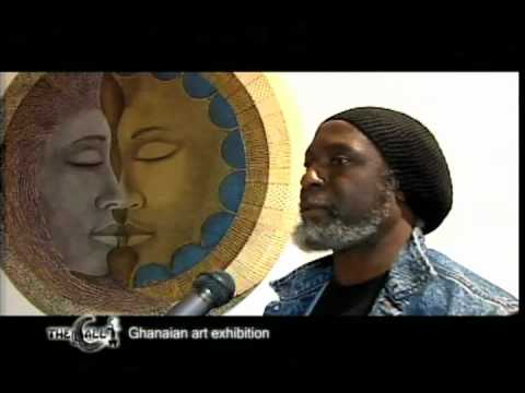 Artist Sami Bentil Art Exhibition in London Interview -