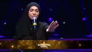 "Indah Nevertari ""Gangsta"" Kat Dahlia - Rising Star Indonesia Eps Live Audition 4"