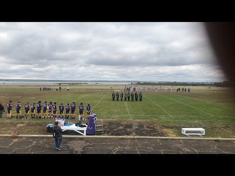 Lower Brule vs Parkston football