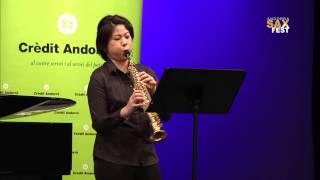 YUKA IWAHASHI – 1st ROUND – III ANDORRA INTERNATIONAL SAXOPHONE COMPETITION 2016