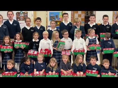 Mercymount Country Day School - Operation Christmas Child 2019