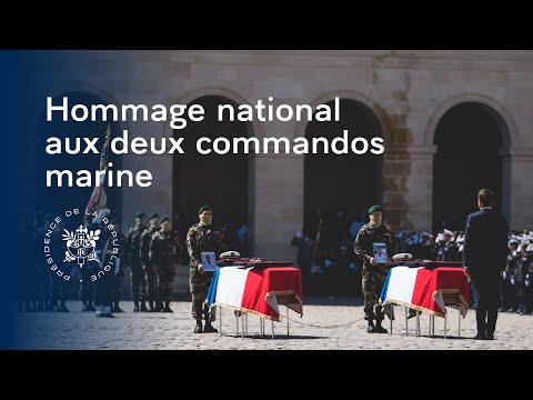 Hommage National Aux Premiers Maîtres Cédric De Pierrepont Et Alain Bertoncello