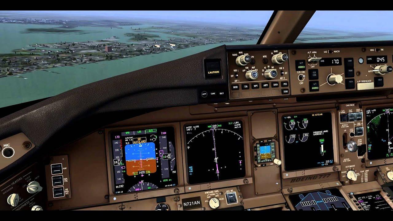FSX- PMDG 777-300 AMERICAN- AAL105- HEATHROW(EGLL)/NEW YORK (KJFK) by  MrEssexGamer