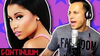 Nicki Minaj Swalla rap recording with JAYDEN (Continuum community)